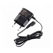 Сетевое зарядное устройство microUSB 220В (СЗУ) (5V, 700mA) шнур 1М черное REXANT 16-0260-9
