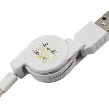 USB кабель рулетка для iPhone 5/iPad REXANT 18-1127
