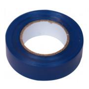 Изолента ПВХ 19 мм х 20 м синяя SAFELINE