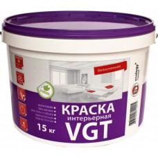 Краска для внутренних работ 15 л VGT ВД-АК-2180 2632