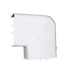 Кабель канал угол L-образный 25х16 мм белый плоский TPlast 50.08.001.0005
