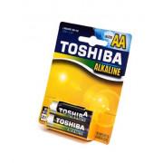 Элемент питания алкалиновый TOSHIBA LR6G R BP-4S 15395