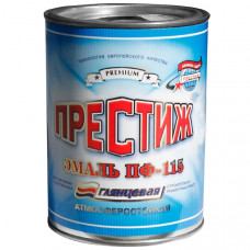 Эмаль желтая 0,9 кг Престиж ПФ-115