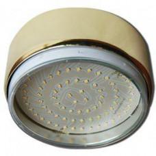 Светильник накладной золото 42х120 мм GX70 G16 Ecola FG70FFECB