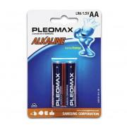 Элемент питания SAMSUNG LR6 BL2 alkaline PLEOMAX 04945