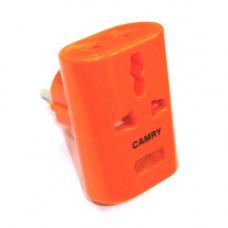 Адаптер сетевой универсальный оранжевый (Япония) CAMRY КМ162