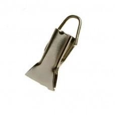Зажим шторный металлический без кольца (200 шт.)