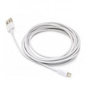 Кабель для iPhone 5/5S/5C/6/6+ USB 1 м с 2-х сторонним разъемом REXANT 18-0121