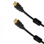 Шнур HDMI-HDMI 1 м с фильтрами REXANT Gold 17-6202