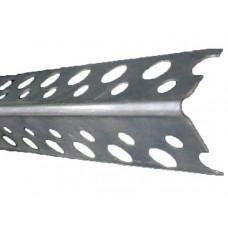 Профиль углозащитный алюминиевый 21х21х3 мм Лука