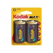 Элемент питания алкалин Kodak MAX LR20 BL2 12041