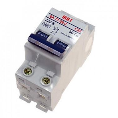 Автоматический выключатель 32А 2ф DEKraft ЩИТ