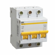 Автоматический выключатель 32А 3-ф IEK-DEKraft