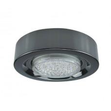 Светильник накладной черный хром 32х130 мм GX53 Ecola FT3073 FB5330ECB