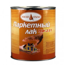 Лак паркетный 2,3 кг Невские краски ПФ-231