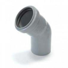 Отвод канализационный 50х67 мм SINIKON 100567