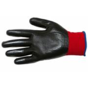 Перчатки нейлоновые с черным обливом ЭНКОР