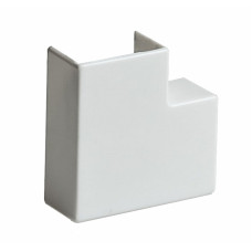 Кабель канал угол L-образный 40х16 мм белый плоский TPlast 50.08.001.0008
