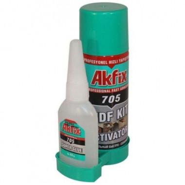 Клей 65 g 200 мл AKFIX 705 fast adhesive