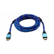 Шнур HDMI - HDMI шелк с фильтрами 3 м REXANT Gold 17-6735