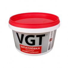 Шпатлевка белая 1 кг ВГТ Экстра