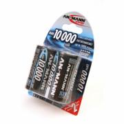 Аккумулятор ANSMANN MN1000D 5030642 BL2 13325