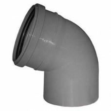 Отвод канализационный 110х450 мм SINIKON 100145