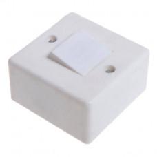 Выключатель накладной одноклавишный БелТИЗ А16-023