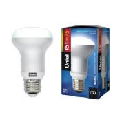 Лампа люминисцентная Е27 15 W 4200 К Uniel RM 63 FR-A