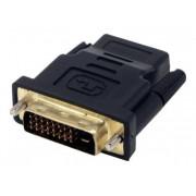 Переходник штекер DVI - гнездо HDMI REXANT GOLD 17-6811