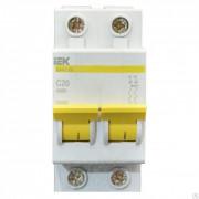 Выключатель автоматический 20А 2-х фазный IEK MVA20-2-020-C