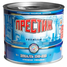 Эмаль белая 1.9 кг Престиж ПФ-115 27