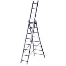 Лестница трехсекционная 3х8 CENTAURE WT3