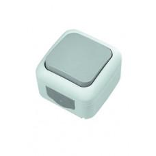 Выключатель одноклавишный влагозащитный VIKO 90555501
