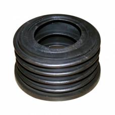 Манжета 50х75 мм резиновая для выпуска П-20/7