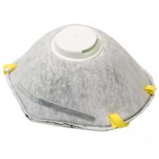 Маска малярная угольная фильтр c клапаном FIT 12288