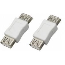 Переходник гнездо-гнездо USB-А (Female) REXANT 18-1172