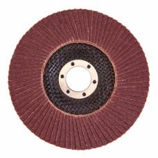 Диск лепестковый 125х22 мм зернистость Р120 Germa Flex