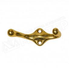 Крючок мебельный латунь AMIG 2200/4