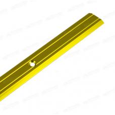 Держатель ковровый золото 820 мм узкий Нора-М 019