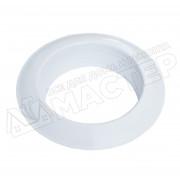 Диффузор металлический для гофрканала D-125 мм белый VENTS