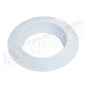 Диффузор металлический для гофрканала D-120 мм белый VENTS