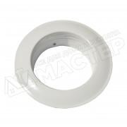 Диффузор металлический для гофрканала D-100 мм белый VENTS