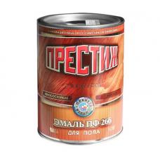 Эмаль красно-коричневая 0,4 кг Престиж ПФ-266