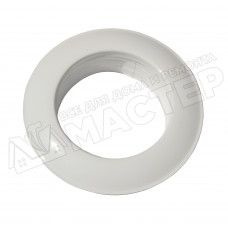 Диффузор металлический для гофрканала D-110 мм белый VENTS