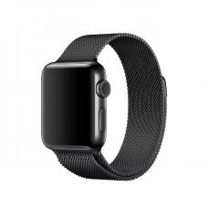 Ремешок металлический черный для Apple Watch 42 мм