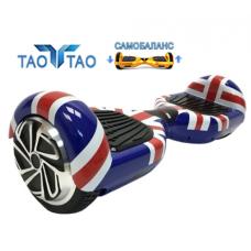Гироскутер британский флаг Smart Balance Wheel 6.5 дюймов New Premium с мобильным приложением и самобалансом