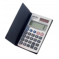 Калькулятор карманный 12-разрядный серебристый чехол Perfeo KT-2218