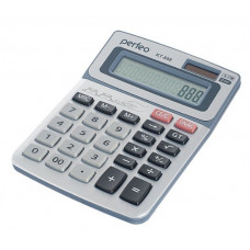 Калькулятор бухгалтерский 12-разрядный GT серебристый Perfeo KT-888