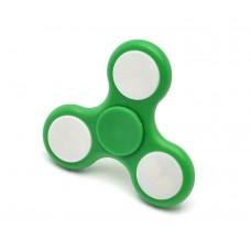 Спиннер треугольный светящийся зеленый